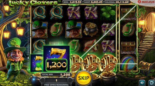 Lucky Clovers :: A winning Five of a Kind