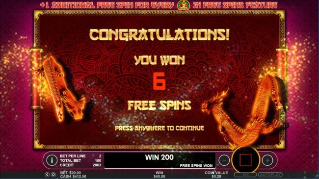14 Red Casino featuring the Video Slots Lucky Dragons with a maximum payout of $40,000