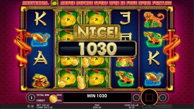 Win Paradise featuring the Video Slots Lucky Dragons with a maximum payout of $40,000