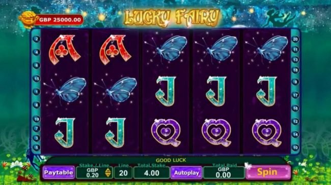 Play slots at Yukon Gold: Yukon Gold featuring the Video Slots Lucky Fairy with a maximum payout of Jackpot