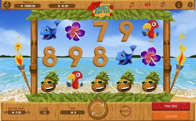 Lucky Mai Tai :: Main Game Board