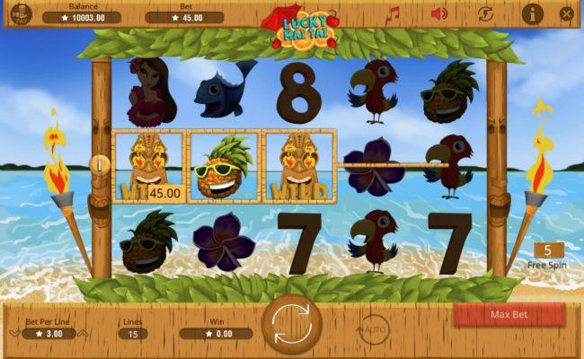 Lucky Mai Tai :: A winning three of a kind