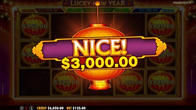 Mayflower featuring the Video Slots Lucky New Year with a maximum payout of $62,500