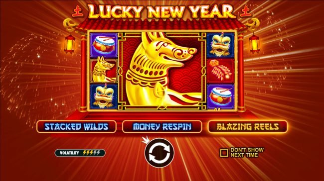 Play slots at Wintingo: Wintingo featuring the Video Slots Lucky New Year with a maximum payout of $62,500