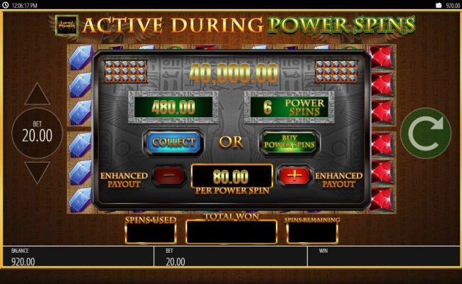 Secret Slots featuring the Video Slots Lucky Pharaoh with a maximum payout of $250,000