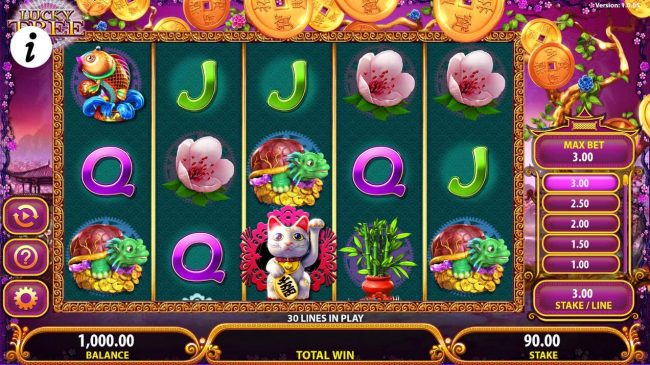Play slots at Lucky Bets: Lucky Bets featuring the Video Slots Lucky Tree with a maximum payout of $250,000