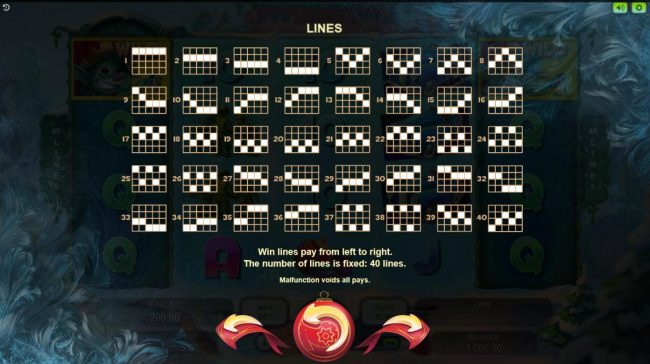 Jellybean Casino featuring the Video Slots Lucky Xmas with a maximum payout of $120,000