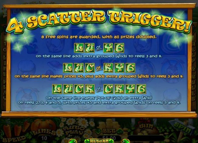 Captain Jacks featuring the Video Slots Lucky 6 with a maximum payout of $33,000
