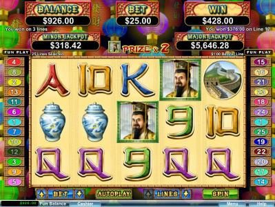 Slots of Vegas featuring the Video Slots Lucky 8 with a maximum payout of $250,000