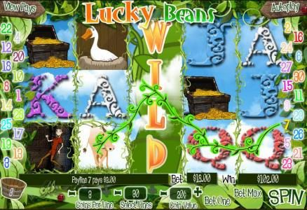 Play slots at Miami Club: Miami Club featuring the Video Slots Lucky Beans with a maximum payout of $25,000