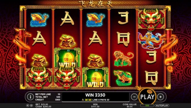 Rich Casino featuring the Video Slots Lucky Dragons with a maximum payout of $40,000