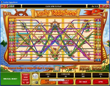 Play slots at House of Jack: House of Jack featuring the Video Slots Lucky Eggsplorer with a maximum payout of $30,000