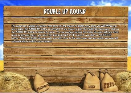 double up round rules