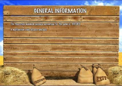 general game information