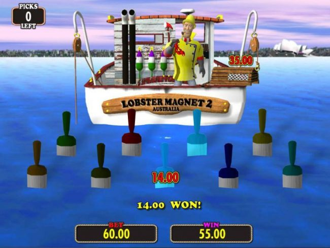 Time to reel in your winnings.