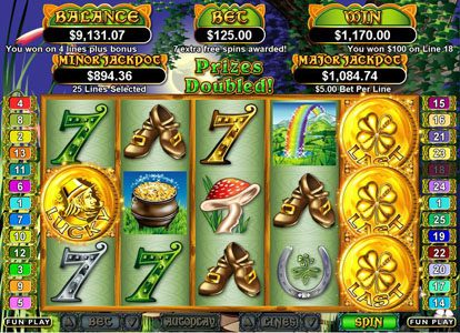 Sun Palace featuring the Video Slots Lucky Last with a maximum payout of $250,000