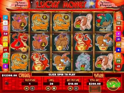 Mission 2 Game featuring the Video Slots Lucky Money with a maximum payout of Jackpot