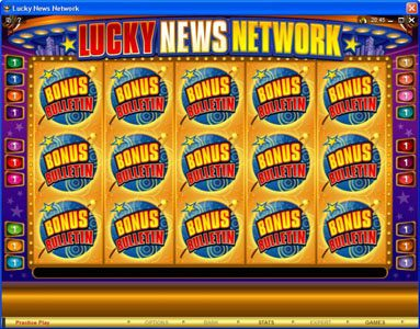 Golden Tiger featuring the Video Slots Lucky News Network with a maximum payout of $10,000