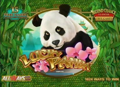 Lucky Panda :: game loading splash screen