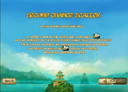Lucky Panda :: sceond chane scatter is active during main game only