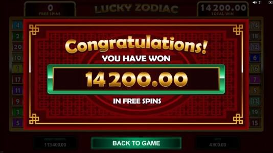 Oshi featuring the Video Slots Lucky Zodiac with a maximum payout of $560,000