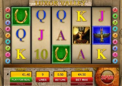 Play slots at Enzo Casino: Enzo Casino featuring the Video Slots Luxor Valley with a maximum payout of $5,000