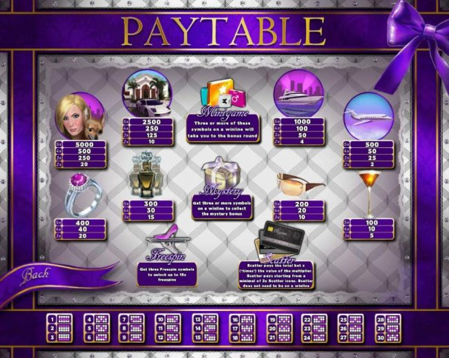 Elegant VIP featuring the Video Slots Luxury Life with a maximum payout of $15,000