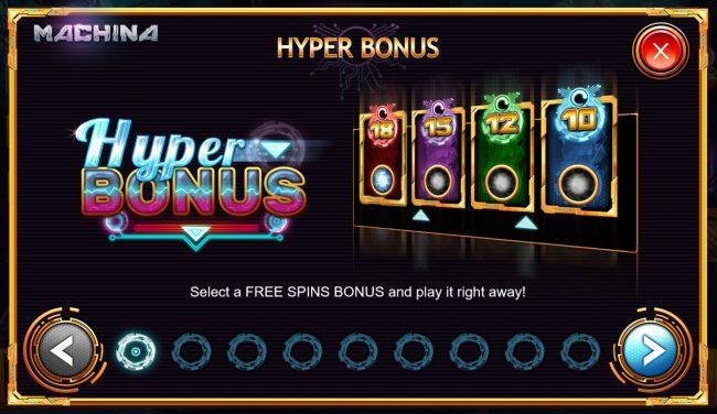 Machina 4 :: Hyper Bonus