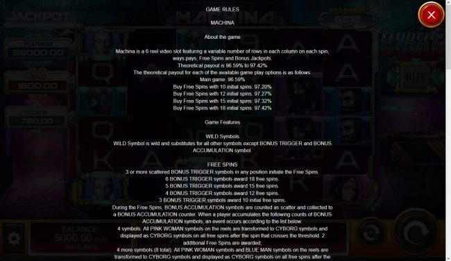 Machina 4 :: General Game Rules