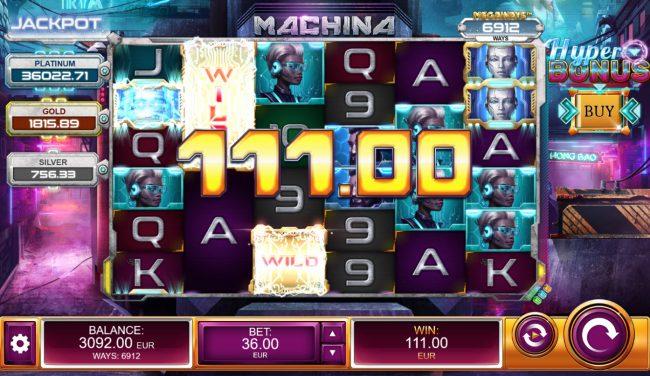 Machina 4 :: A winning three of a kind