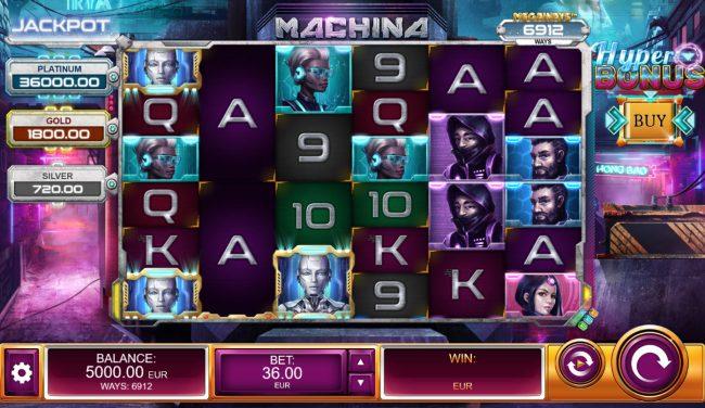 Machina 4 :: Main Game Board