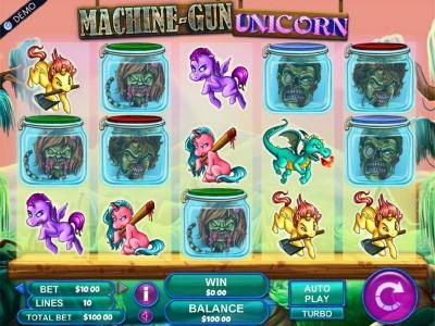Casino 440 featuring the Video Slots Machine Gun Unicorn with a maximum payout of $2,000
