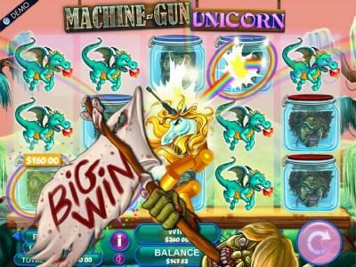 All Slots featuring the Video Slots Machine Gun Unicorn with a maximum payout of $2,000