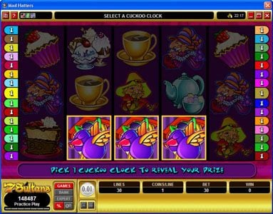 Villento featuring the Video Slots Mad Hatters with a maximum payout of $50,000