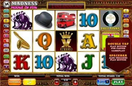 Play slots at Thrills: Thrills featuring the Video Slots Madness House of Fun with a maximum payout of $50,000