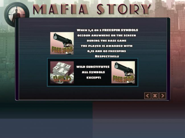 Winner Million featuring the Video Slots Mafia Story with a maximum payout of $24,000