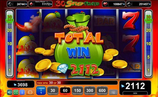 Magic Castle :: Total Win 2112