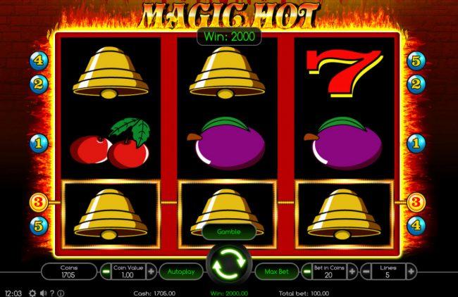 Magic Hot :: A winning three of a kind