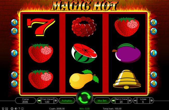 Magic Hot :: Main Game Board