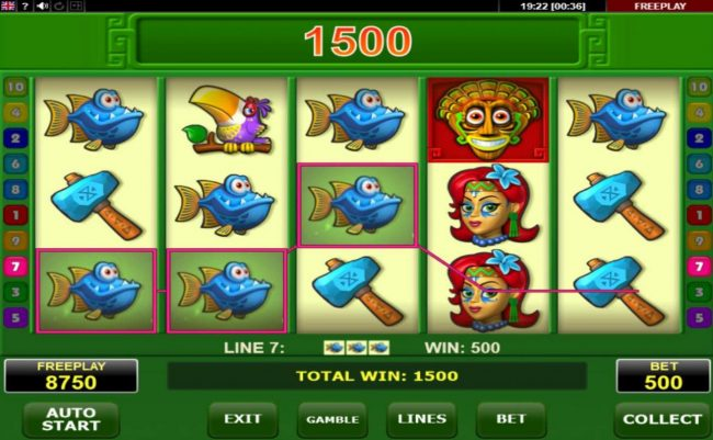 All British featuring the Video Slots Magic Idol with a maximum payout of $25,000