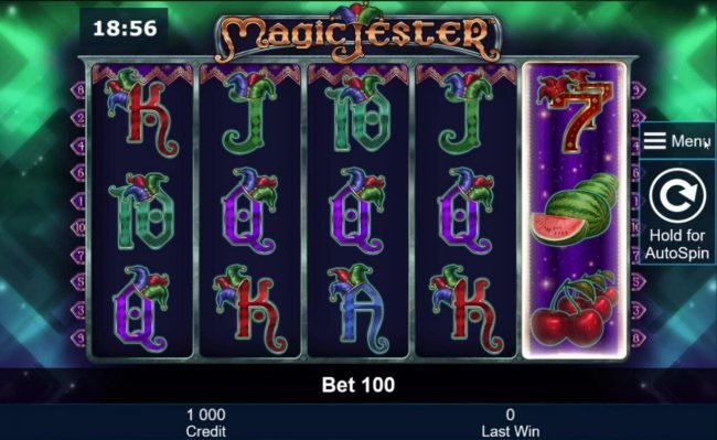 Play slots at Money Storm: Money Storm featuring the Video Slots Magic Jester with a maximum payout of $800,000