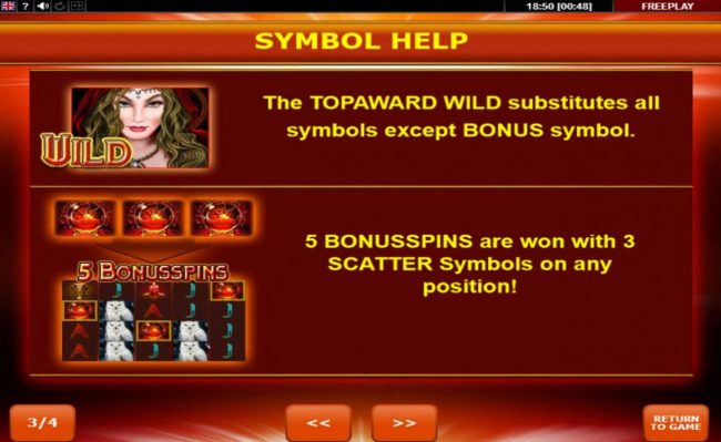 Magic Owl :: Wild and Scatter Symbols Rules and Pays