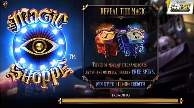 Play slots at Wizbet: Wizbet featuring the Video Slots Magic Shoppe with a maximum payout of $513,000