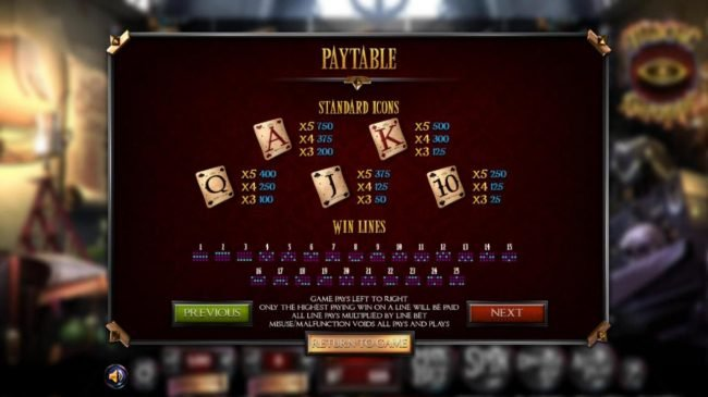 Jellybean Casino featuring the Video Slots Magic Shoppe with a maximum payout of $513,000