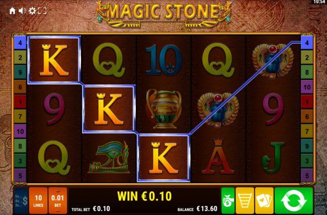 Magic Stone :: A winning three of a kind