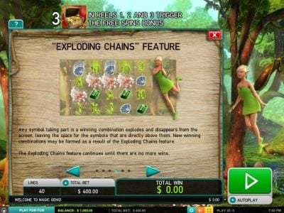 My Bet featuring the Video Slots Magic Gems with a maximum payout of $5,000