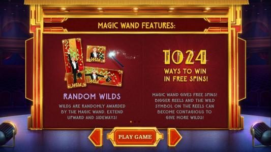 magic wand features