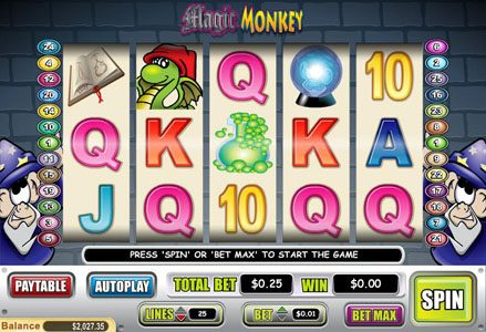 Play slots at Lincoln: Lincoln featuring the Video Slots Magic Monkey with a maximum payout of $60,000