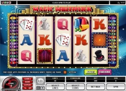 Play slots at Stan James: Stan James featuring the Video Slots Magic Multiplier with a maximum payout of $1,000