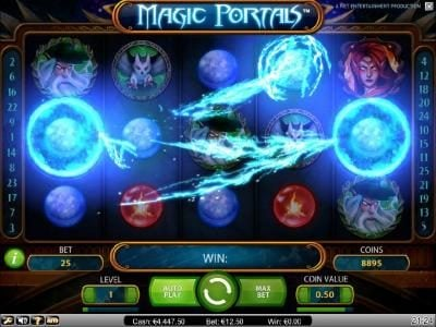 Wild Wild Bet featuring the Video Slots Magic Portals with a maximum payout of $5,000
